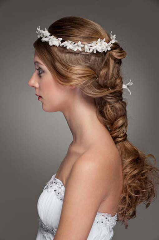 Wedding Hair Wedding Braid Flower Crown The New Fashion And Trends